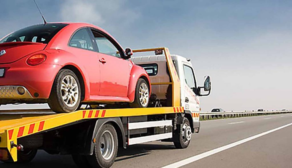 vehicle towing service